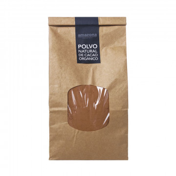 Polvo natural de cacao...
