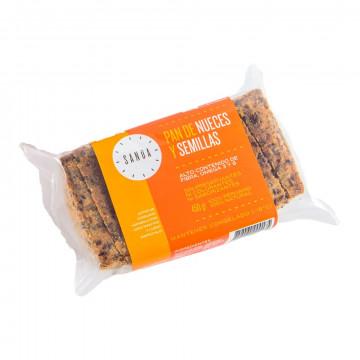 Pan con nueces y semillas...