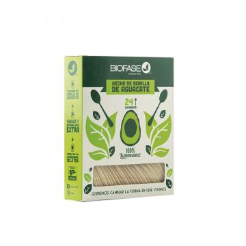 Cucharas ecológicas 24 und