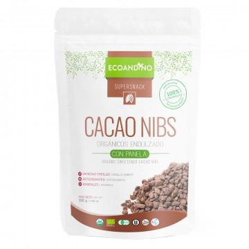 Cacao nibs endulzados con...