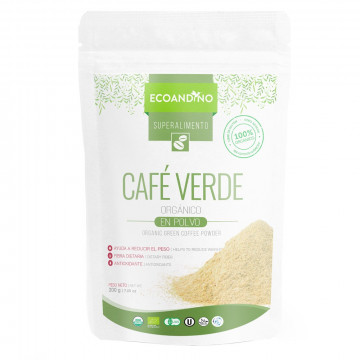 Café verde en polvo 200 gr