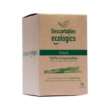 Vasos Ecólogicos 370 ml 10 und