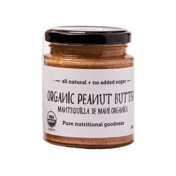 Organic peanut butter 240 gr