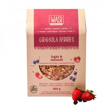 Granola de berries orgánica...
