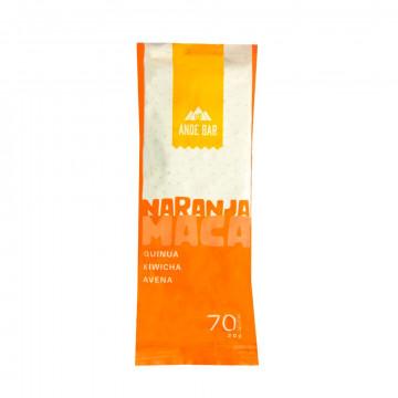Barras naranja maca 20 gr
