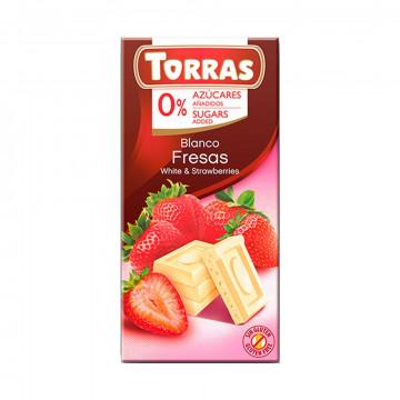 Chocolate Blanco Fresa (0%...
