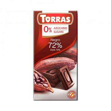 Chocolate Negro 72% (0%...