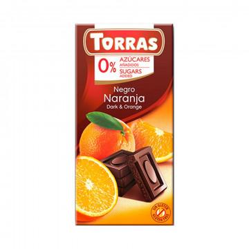 Chocolate Negro Naranja (0%...