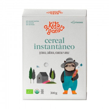 Cereal orgánico instantáneo...