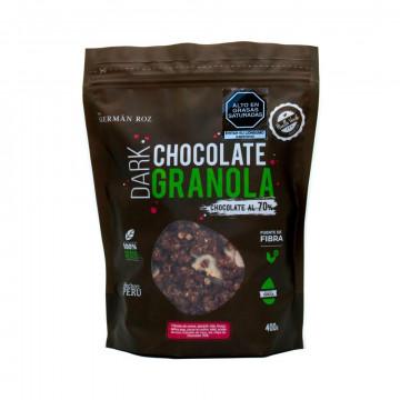 Dark chocolate granola 400 gr