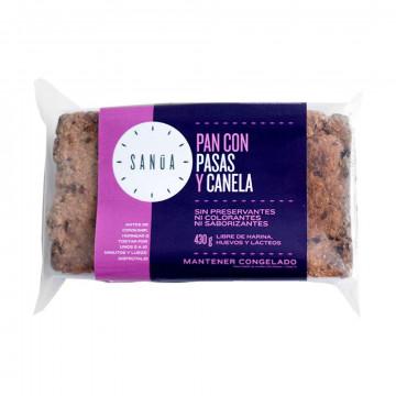 Pan con pasas y canela 430 gr