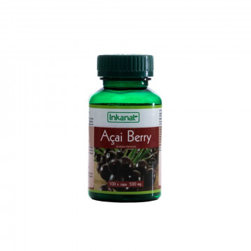 Cápsulas de Acai 100 x 500 mg