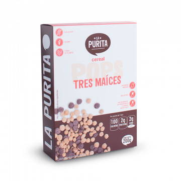 Cereal POP's 3 Maíces 200 gr