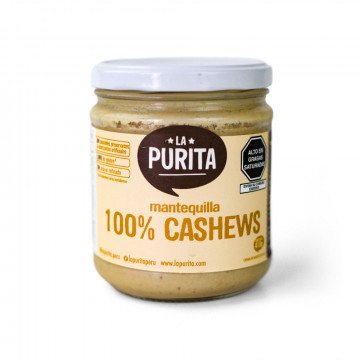 Mantequilla 100% de cashews...