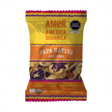 Chips Papa Nativa Azul 30 gr