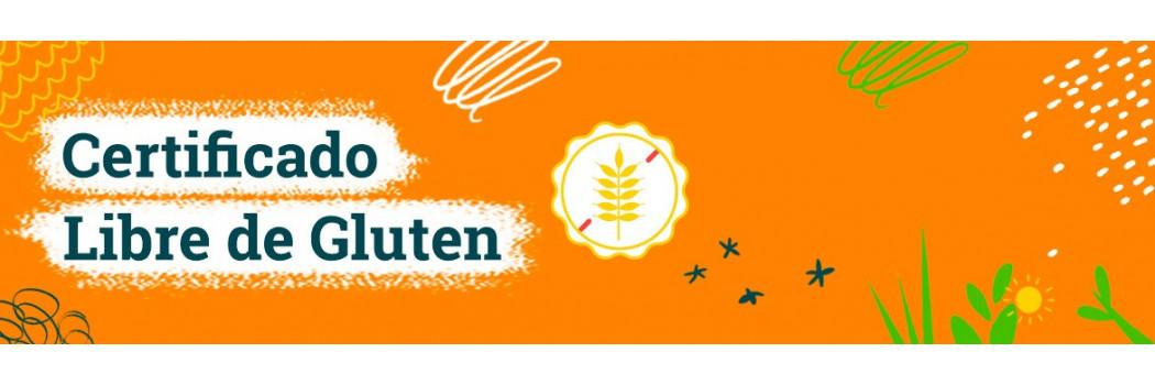 Certificado Libre de Gluten
